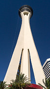 Fabulous Framed Prints - Stratosphere Las Vegas Framed Print by Edward Fielding