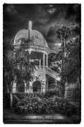 Railing Prints - Sulfur Springs Gazebo Print by Marvin Spates