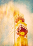 Ferris Wheels Posters - Summer Dreams Poster by Amy Weiss