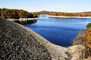 Corps Of Engineers Prints - Summersville Lake Autumn Print by Thomas R Fletcher
