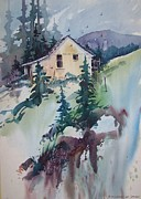 Colorado Paintings - Summitville by Micheal Jones