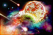 Sterne Prints - Sun Of The Nebula Print by Dirk Czarnota
