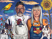 Overalls Art - Sunday Morning by Leah Saulnier The Painting Maniac