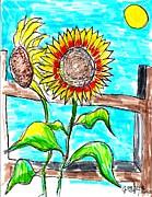Jon Baldwin  Art - Sunflowers