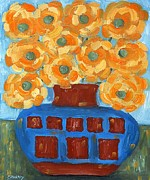 Art Mobile Prints - Sunflowers Print by Patrick J Murphy