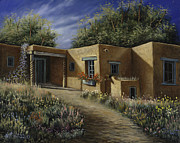 Albuquerque Paintings - Sunny Day by Ricardo Chavez-Mendez