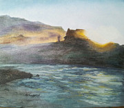 Becky Chappell - Sunrise on Slate River