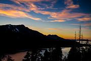 Sunset On Angora Ridge Print by Mitch Shindelbower