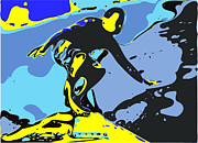 Surf Lifestyle Art - Surfer by Chris Butler