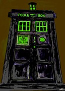 Dr. Who Framed Prints - Tardis Framed Print by David Rogers