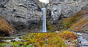 Swirling Framed Prints - Taughannock Falls Framed Print by Robert Harmon