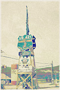 Tennessee Country Store Sign Print by Sandy Moulder