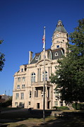 Indiana Photography Prints - Terre Haute Indiana - Courthouse Print by Frank Romeo