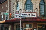 Indiana Photography Prints - Terre Haute - Indiana Theater Print by Frank Romeo