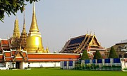 Traditional Photos - Thai kings grand palace by Sumit Mehndiratta