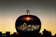 Etti Palitz Prints - The Big Apple Print by Etti PALITZ