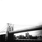 Brooklyn Bridge Posters - The Brooklyn Bridge Poster by Natasha Marco