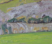 Impressionism Originals - The End Of October In The Valley by Francois Fournier