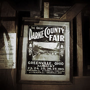 Grist Mill Posters - The Great Darke County Fair 1915 Poster by Natasha Marco
