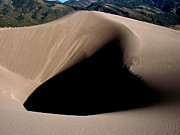 Great Sand Dunes National Park Framed Prints - The Great Dune Framed Print by Theresa Baker