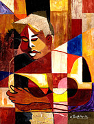 African-american Mixed Media - The Matriarch Take Two 2007 by Everett Spruill
