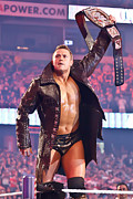 Wrestlemania Framed Prints - The Miz Framed Print by Wrestling Photos