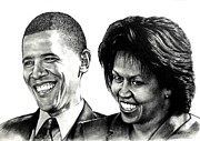 The Obama's Print by Todd Spaur