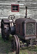 Tractor Photo Posters - The Old Mule  Poster by Richard Rizzo