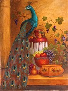 Grapevine Originals - The Peacock by Jeanene Stein