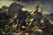 Gericault Posters - The Raft of the Medusa Poster by Theodore Gericault