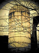 Silo Framed Prints - The Silo Framed Print by Michael L Kimble