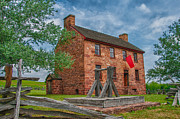 Manassas National Battlefield Park Photos - The Stone House by Guy Whiteley