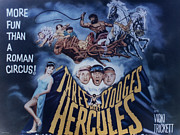 Television Stars Prints - The Three Stooges Meet Hercules Print by Official Three Stooges