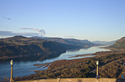 Viewpoint Framed Prints - The view Columbia River Gorge Oregon. Framed Print by Gino Rigucci