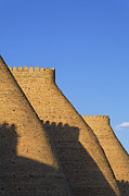 Ark Posters - The walls of the Ark at Bukhara in Uzbekistan Poster by Robert Preston