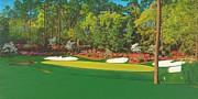 Thirteenth At Augusta Print by L J Oakes