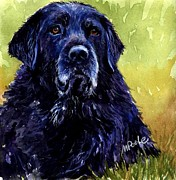 Labs Paintings - This is Fred by Molly Poole