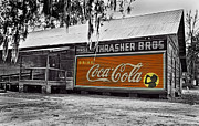Coca-cola Sign Art - Thrasher Brothers Warehouse by Harry Lamb