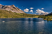 Scenic Prints - Tioga Lake Print by Cat Connor