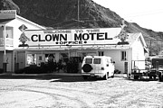 America Framed Prints Framed Prints - Tonopah Nevada - Clown Motel Framed Print by Frank Romeo
