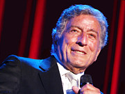Vocalist Digital Art Originals - Tony Bennett by Stephen Shub