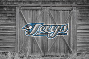 Baseball Bat Framed Prints - Toronto Blue Jays Framed Print by Joe Hamilton