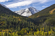 Fall Photos Framed Prints - Torreys Peak  Framed Print by Aaron Spong