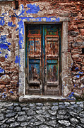 Architectur Photo Metal Prints - Traditional Door.. Metal Print by Emmanouil Klimis