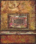 Antique Mixed Media Originals - Traveler by Joy  Kelley-Giles