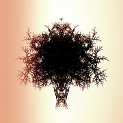Wall Art Prints Digital Art - Tree of twigs by Sharon Lisa Clarke