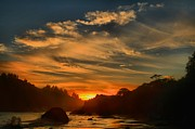 Trinidad Prints - Trinidad Beach Sunset Print by Adam Jewell