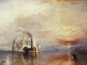 Temeraire Posters - Turner, Joseph Mallord William Poster by Everett