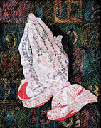 Praying Hands Prints - Unanswered Prayers Print by Inge Wright