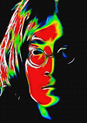 John Lennon  Art - Under the Surface by Stefan Kuhn